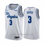 Maglia Los Angeles Lakers Anthony Davis #3 Classic 2019-20 Bianco