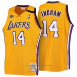 Maglia Los Angeles Lakers Brandon Ingram #14 Retro 1999-00 Giallo