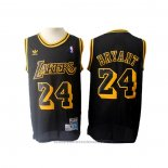Maglia Los Angeles Lakers Kobe Bryant #24 Retro Nero