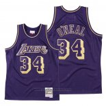 Maglia Los Angeles Lakers Shaquille O'neal #34 2020 Chinese New Year Throwback Viola