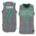 Maglia Natale 2018 Boston Celtics Jaylen Brown #7 Verde