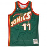 Maglia Seattle SuperSonics Detlef Schrempf #11 Historic Throwback Verde