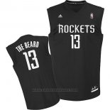 Maglia Soprannome Houston Rockets The Beard #13 Nero