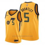 Maglia Utah Jazz Jarrell Brantley #5 Statement 2019-20 Or