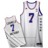 Maglia All Star 2015 Carmelo Anthony #7 Bianco