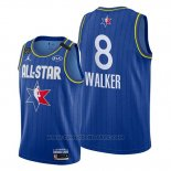 Maglia All Star 2020 Boston Celtics Kemba Walker #8 Blu