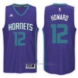 Maglia Charlotte Hornets Dwight Howard #12 Road 2017-18 Viola