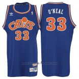 Maglia Cleveland Cavaliers Shaquille O'Neal #33 Retro 2008 Blu