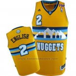 Maglia Denver Nuggets Alex English #2 Giallo