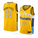 Maglia Denver Nuggets Devaughn Akoon-purcell #23 Statement 2018 Giallo