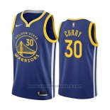 Maglia Golden State Warriors Stephen Curry #30 Icon 2019-20 Blu