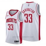 Maglia Houston Rockets Robert Covington #33 Association 2019-20 Bianco