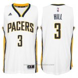 Maglia Indiana Pacers George Hill #3 Bianco