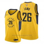 Maglia Indiana Pacers Jeremy Lamb #26 Statement Or