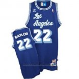 Maglia Los Angeles Lakers Elgin Baylor #22 Retro Blu