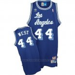 Maglia Los Angeles Lakers Jerry West #24 Retro Blu