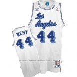 Maglia Los Angeles Lakers Jerry West #24 Retro Bianco
