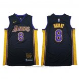 Maglia Los Angeles Lakers Kobe Bryant #8 Retirement 2018 Nero