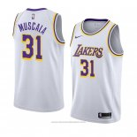 Maglia Los Angeles Lakers Mike Muscala #31 Association 2018-19 Bianco