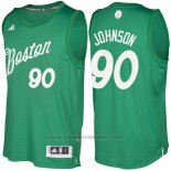 Maglia Natale 2016 Boston Celtics Amir Johnson #90 Veder