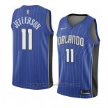 Maglia Orlando Magic Amile Jefferson #11 Icon 2018 Blu
