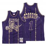 Maglia Toronto Raptors Tracy McGrady #1 2020 Chinese New Year Throwback Viola