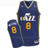 Maglia Utah Jazz Deron Williams #8 Blu