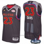 Maglia All Star 2017 New Orleans Pelicans Anthony Davis #23 Nero