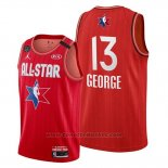 Maglia All Star 2020 Los Angeles Clippers Paul George #13 Rosso