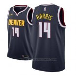 Maglia Denver Nuggets Gary Harris #14 Icon 2018-19 Blu