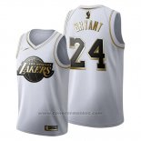 Maglia Golden Edition Los Angeles Lakers Kobe Bryant #24 2019-20 Bianco
