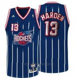 Maglia Houston Rockets James Harden #13 Retro Blu