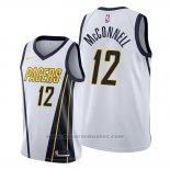 Maglia Indiana Pacers T.j. Mcconnell #12 Earned Bianco