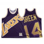 Maglia Los Angeles Lakers Danny Green #14 Mitchell & Ness Big Face Viola