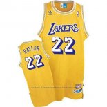 Maglia Los Angeles Lakers Elgin Baylor #22 Retro Giallo