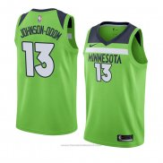 Maglia Minnesota Timberwolves Darius Johnson-odom #13 Statement 2018 Verde
