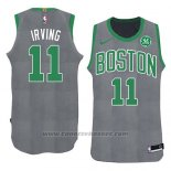 Maglia Natale 2018 Boston Celtics Kyrie Irving #11 Verde