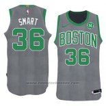 Maglia Natale 2018 Boston Celtics Marcus Smart #36 Verde