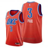 Maglia Oklahoma City Thunder Chris Paul #3 Statement Arancione