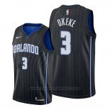 Maglia Orlando Magic Chuma Okeke #3 Statement 2019-20 Nero