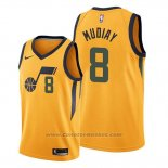 Maglia Utah Jazz Emmanuel Mudiay #8 Statement Or