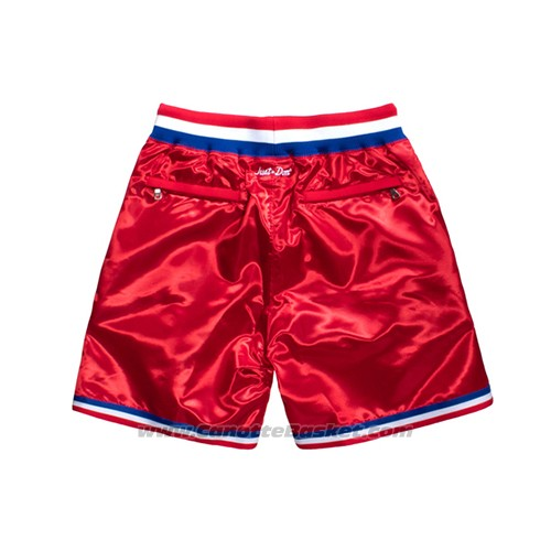 Pantaloncini All Star 1991 Just Don Rosso