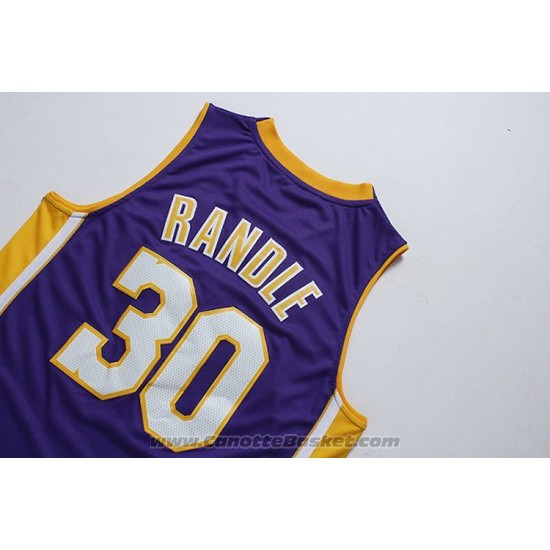 Maglia Los Angeles Lakers Julius Randle #30 Viola