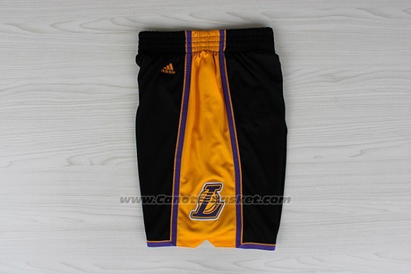 Pantaloncini Los Angeles Lakers Nero